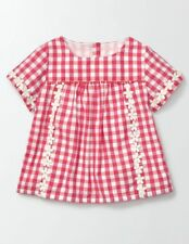 Boden Daisy Woven Top 7-8 Years TD089 MM 05