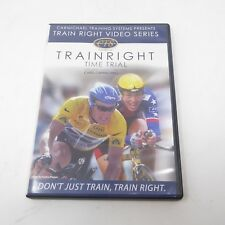 Carmichael Training System Train Right - Time Trial DVD Bicycle Cycling
