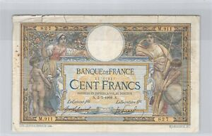 100 Francs Merson 2-7-1909 M.911 n° 22761827 Fayette 23(01)