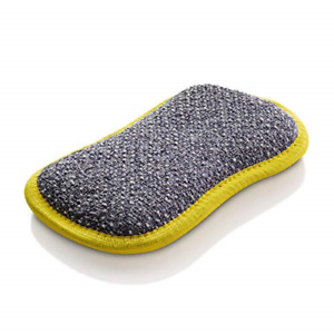 2X e-Cloth Washing Up Pad Dual Sided Streak-Free Non-Scratch Cleaning with Water