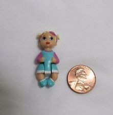 """FISHER PRICE Sweet Streets Dollhouse BABY GIRL INFANT FAMILY HOSPITAL 1 3/8"""""""