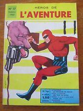 ANCIENNE BD HEROS DE L'AVENTURE LE FANTOME N°17 COMICS 1965
