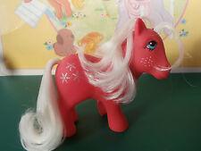 My Little Pony Snowflake Spain nirvana SUPER!  kleines petit poney vintage G1