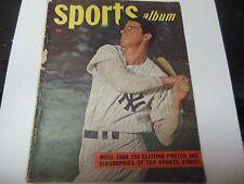 1948 SPORTS ALBUM MAGAZINE JOE DIMAGGIO COVER RARE THE 150 EXCITING PHOTOS, BIOS