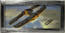 Star Wars Phantom Menace TRADE FEDERATION SHIPS FRAMED CONCEPT PRINT Chiang 1999