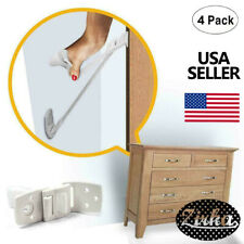 New Furniture And Tv Anti Tip Straps 4-Pack Wall Strap For Child Proofing