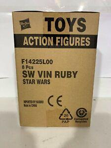 Star Wars - Vintage Collection - Cara Dune Carbonized Sealed Case of 8 Figures