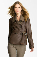 Weekend Max Mara 'Alvaro' Leather Jacket (Size 10)