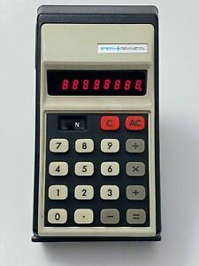 Vintage SPERRY REMINGTON Model 807B Electronic Calculator