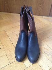 Lucchese Cowboy Western Stiefel Boots Leder braun/schwarz US 12D EUR 45/46 UK 11