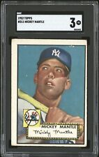 1952 Topps Mickey Mantle #311 SGC 3 VG Rookie RC (Priced for quick Sale!)