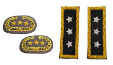 American Civil War ACW Confederate Grey And Union Lt General Insignia Sets NEW