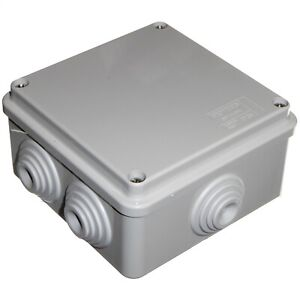 IP55 CCTV Cable Waterproof Junction Box 100mm x 50mm Gewiss GW44004 - Italy Made