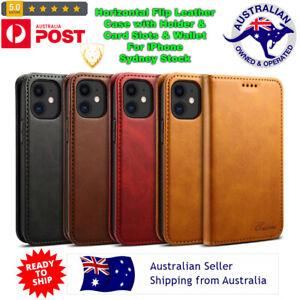 Horizontal Flip Leather Case with Holder &Card Slots & Wallet For iPhone QUALITY