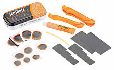 IceToolz 65A1 Tire Puncture Repair Kit Box / Bike Bicycle Tire Lever Patches