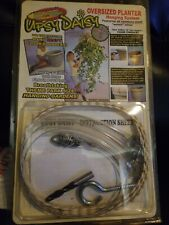Theme Park Plant Hanger Upsy Daisy Holds 125 lbs With Straps Pot Not Included