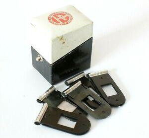 ✅ Set of 5 Paillard Bolex Filter Holders And Original Case For H16 Movie Cameras