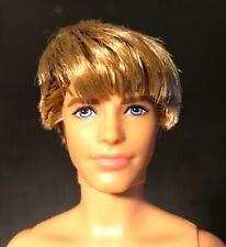 Mattel Barbie 2009 Handsome KEN DOLL~ Rooted Blonde Hair ~ Nude - OOAK MUSE
