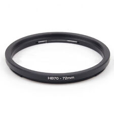 Hasselblad HB 70 - 72mm Step Up Ring Filter Adapter 70mm Bayonet lens to 72mm