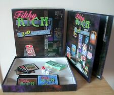 Filthy Rich The 3D Game of Capitalism - Wizards of the Coast - Complete - 1998