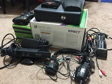 Microsoft Xbox 360 with Kinect 4GB Black Console (NTSC)