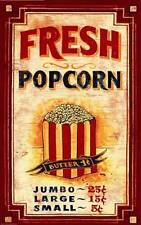 New Popcorn by Red Horse Signs Fine Advertising Art Print Home Wall Decor 739070