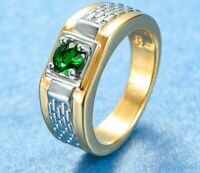 Ring 56 58 62 Fingerring Herrenring Gold Silber zweifarbig  Herrenschmuck Damen