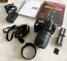 Nikon D90 12.3 MP SLR-Digitalkamera Kit mit AF-S DX 18-105mm Objektiv