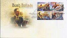 2014 Australia - Bush Ballads - Banjo Paterson FDC Yass NSW 2582 FDI PMK