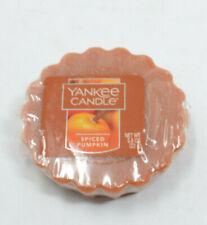 YANKEE CANDLE SPICED PUMPKIN Tarts WAX MELTS 0.8 oz/22 g (2 Pack)