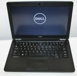 """12"""" WXGA Dell Latitude E7250 Intel Core i5 5th 8GB 256GB Ultrabook Graphics 5500"""