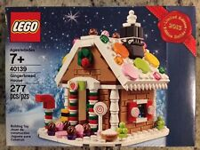 LEGO 40139 Holiday Gingerbread House 2015 Limited Edition Set, New In Box
