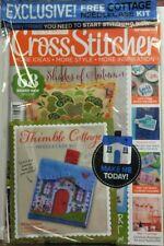 Cross Stitcher UK Sept 2017 Cottage Needlecase Kit New Designs FREE SHIPPING sb