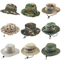 Fj- Tattico Militare Boonie Cappello da Pescatore Giungla Cespuglio Safari