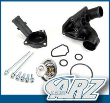 Kühlmittelflansch Thermostatgehäuse Set für VW V5 V6 R32 AUDI A3 TT VR6 V6