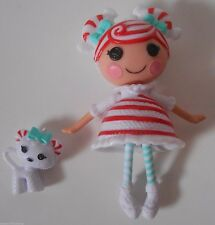 CUSTOM Ornament Made From Lalaloopsy Mint E Stripes & Pet Mini NEW Candy Cane