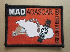 Madagascar Explorer Belt 09 Cloth Patch Badge Boy Scouts Scouting L4K B