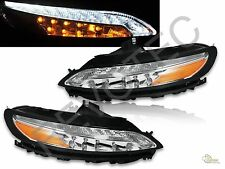 LED Daytime Running DRL Signal Parking Lamps Lights For 14-18 Jeep Cherokee
