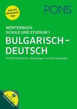 PONS Wörterbuch für Schule und Studium 1. Bulgarisch-Deutsch (2017, Set mit diversen Artikeln)