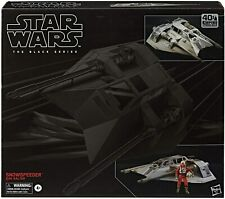 Star Wars The Black Series Snowspeeder Vehicle With DAK Ralter Figure 6 Inch