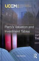 Parry's Valuation and Investment Tables 9780367350789 | Brand New