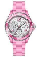 Invicta Women's 30365 Anatomic Quartz 3 Hand Silver, Pink Dial Watch