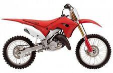 honda cr125 cr250 02-07 polisport restyle bodykit plastic kit oem red white