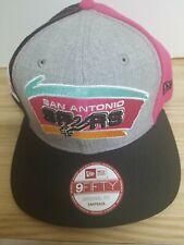 pretty nice 8c074 4b4a9 San Antonio Spurs New Era 59FIFTY NBA Hardwood Classics Cap Hat - Size  OSFM