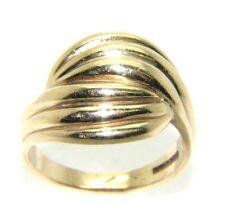 Mujer / mujer 9 ct 9 ct oro amarillo sello anillo talla RU Q