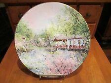 """Royal Doulton, Ltd Edition Plate """"Garden of Tranquility"""" by Chen Chi #8898"""