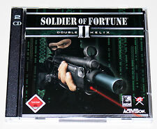 SOLDIER OF FORTUNE II - DOUBLE HELIX - PC CD ROM - EGO SHOOTER