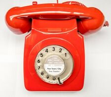 Vintage 1970s Retro GPO 746 Telephone - Red - Fully Refurbished