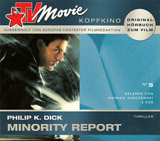 PHILIP K. DICK : MINORITY REPORTI / 4 CD-SET (HÖRBUCH)