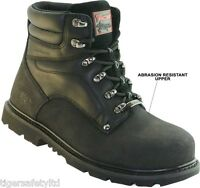 Rock Fall Tomcat Ashstone TC4100 S3 Black Waterproof Steel Toe Cap Safety Boots